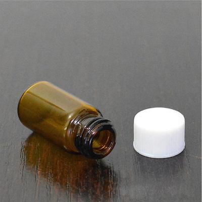 3 ml 5 ml Braunglasflasche Tropfeinsatz Apothekerflasche Proben Medizinflaschen 8