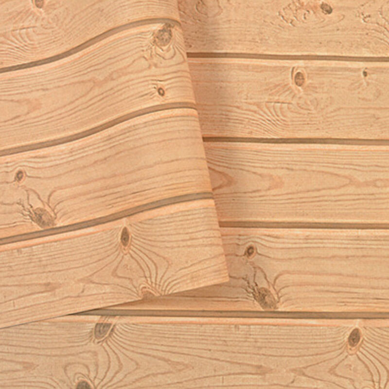 Real Look Wall Wood Grain Mural Decal 53*1000cm PVC Wallpaper Film Stickers 10M