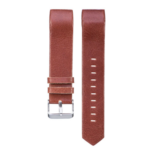 2017 Genuine Leather Wrist Band Watch Strap For Fitbit Charge 2 Large Small 4