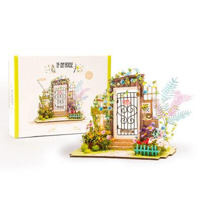 ROBOTIME DIY Wooden Dollhouse Fariy Garden Miniature House Handcrafted Toy Gift 4