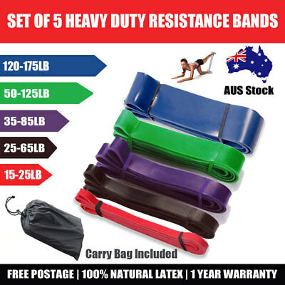 Strength Band Power Resistance Rubber Band Chin Up Pull Up Training Exercise Gym 2