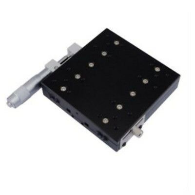 X-Axis Manual Trimming Platform Linear Stage 60mm 0.01mm Sliding Table Bearing 7