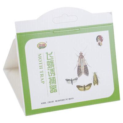 5pcs/pack Pantry Kitchen Food Moth Pheromone Attractant Moth Killer Moth Trap 8