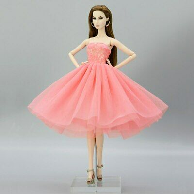 """Fashion Doll Clothes Short Ballet Dress For 11.5"""" Doll Outfits Evening Dress 1/6 2"""