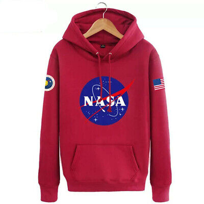 Hommes Sweat à capuche Nasa Space Pull-over Amoureux Manteau Pull Sweat-shirt 5