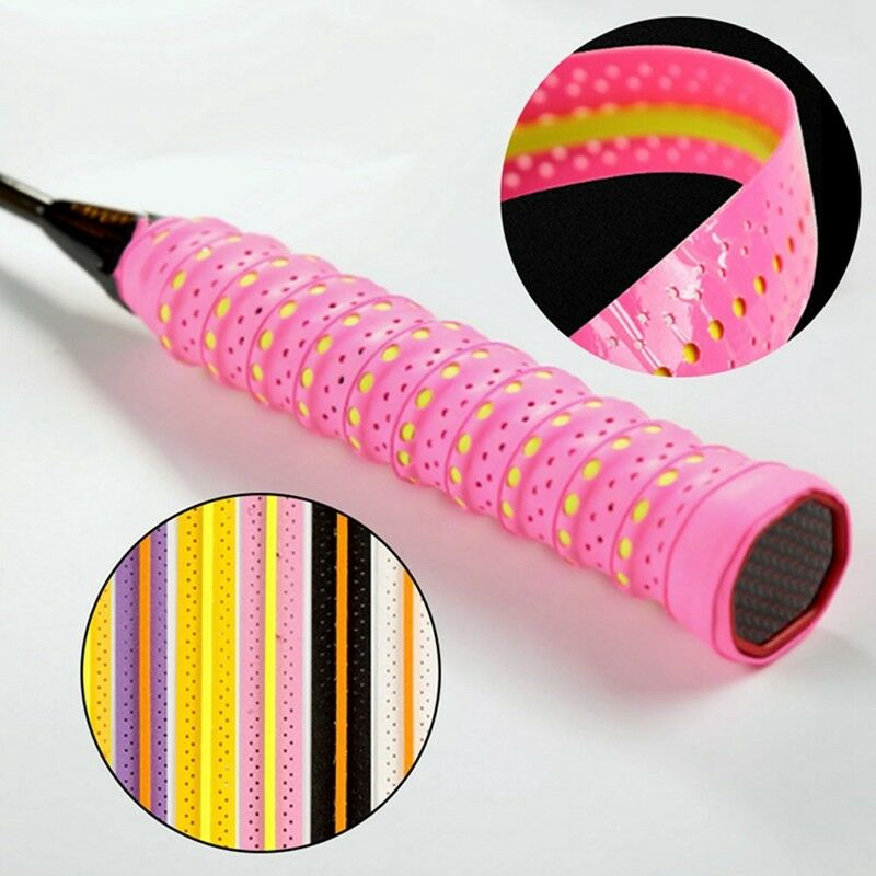 Absorb Sweat Racket Anti-slip Tape Handle Grip For Tennis Badminton Squash Bands