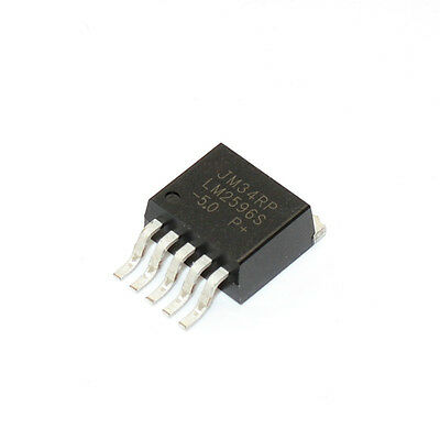 5PCS LM2596S-3.3V SIMPLE SWITCHER Power Converter Voltage Regulator TO263
