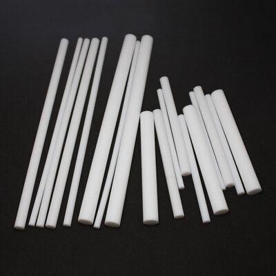 White PTFE Round Rod Bar Stick 5mm 6 8mm 10mm 12mm Dia 100/200/300mm Long 2