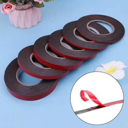 3-20mm 25m Double Sided Adhesive Tape Red Stickers For Mobile Phone LCD Screen 3