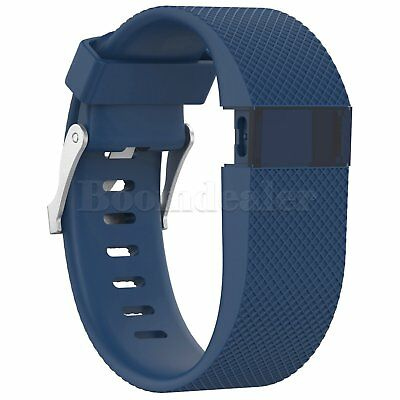 Replacement Silicone Wrist Strap Bracelet For Fitbit Charge HR Activity Tracker 4