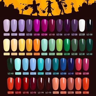51 Couleur Multiple UV Gel Nail Art Semi Permanent Vernis à ongles LILYCUTE 5ML 2