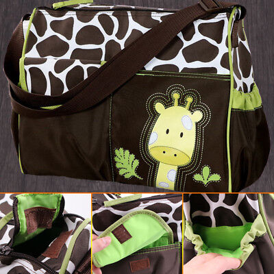 AU4 styles Baby Diaper Nappy Mummy Changing Handbag Shoulder Bag with Mat Travel 3