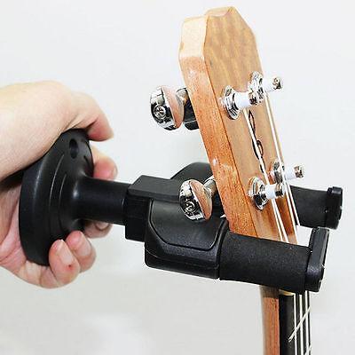 1x Guitar Wall Mount Hanger Stand Holder Hooks Bracket Acoustic Electric Bass