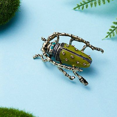 Fashion Animal Insect Bee Spider Pearl Crystal Brooch Pin Women Men Jewelry Gift 3