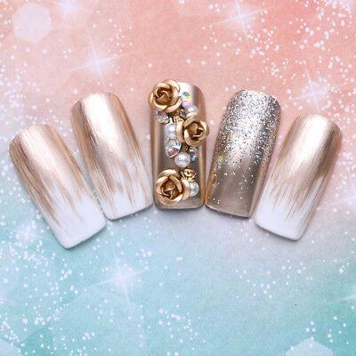 Arte de Uñas Diamantes de imitación Decoración del arte del clavo 3D Nail Art