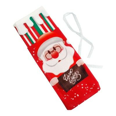 Red Wine Bottle Cover Bags Snowman Santa Claus Christmas Decoration Sequins New 11
