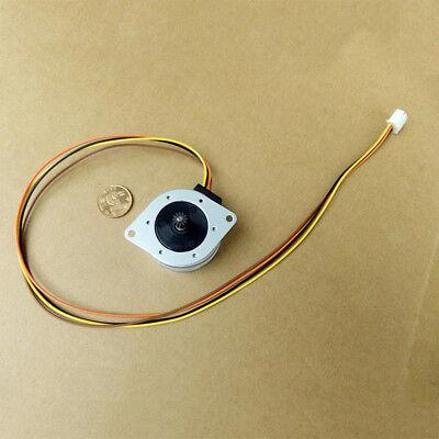 Japan OKI 42mm Round 2 Phase 4 Wire Stepper Motor 7.5 degree for Printer Copier 9