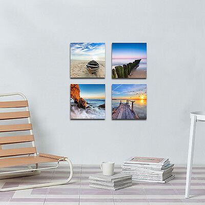 Modern Landscape Seascape Photo Canvas Print Home Decor Wall Art Poster Framed 10