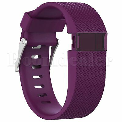 Replacement Silicone Wrist Strap Bracelet For Fitbit Charge HR Activity Tracker 6