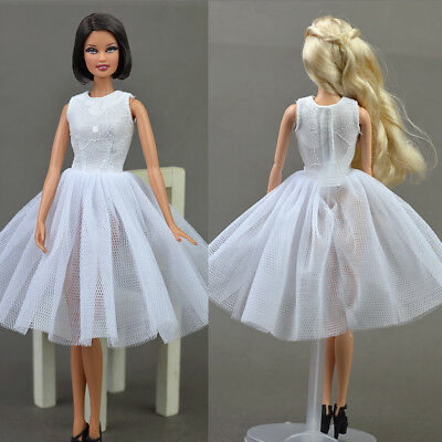 """Doll Accessories Costume Ballet Dress Lace Skirt Dress Clothes For 11.5"""" Doll 2"""