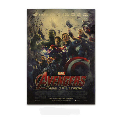 Avengers Thor,Iron Man,Black Widow,Captain America Kraft Paper Poster Picture 3