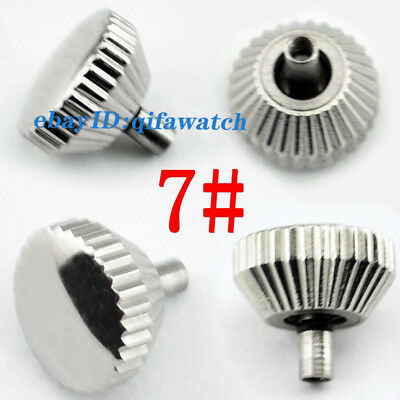 Watch Crown 316L Stainless Steel Fit Seagull ST36 Eta 6497/6498 Mechanical P217 8