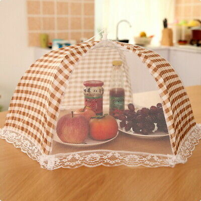 Summer Kitchen Food Cover Tent Umbrella Outdoor Camp Cake Mesh Net Mosquito BJ 10