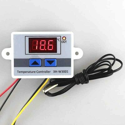 12/220V Digitale Led Regolatore di Temperatura 10A Termostato Interruttore + 6