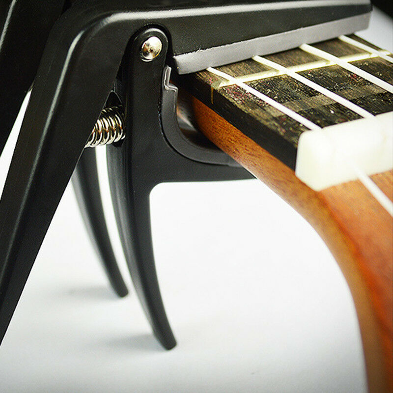 Classic Guitar Ukulele Quick Change Clamp Key Capo Acoustic Tools Accessories