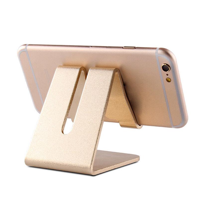 6 Of 11 Home Office Desk Desktop Phone Stand Aluminum Holder For Iphone Cellphone Tablet