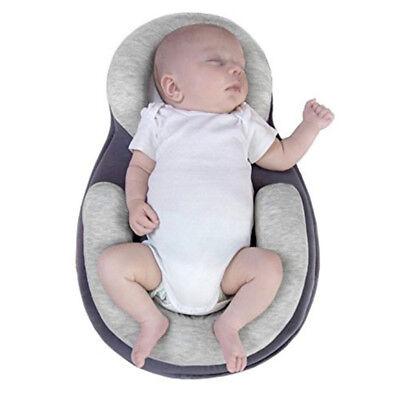 Portable Baby Kid Crib Folding Travel Nursery Infant Toddler Cradle Sleeping Bed 2