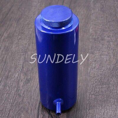 800ml Blue Overflow Catch Tank Radiator Coolant Expansion Tank Bottle Header 5