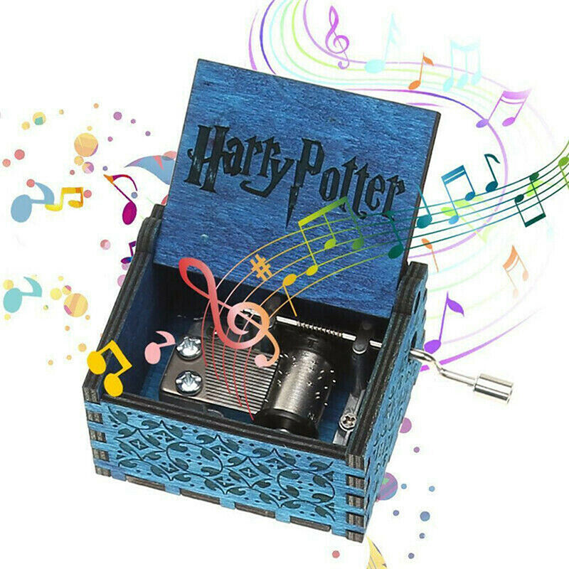 Harry Potter Game Of Thrones Game Box Wood Game Clock Music Box Gift 4