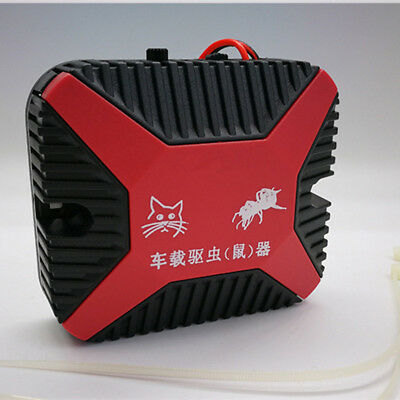 High-Tech 12V Dual Ultrasonic Engine Wire Protection Mouse Chaser Rats Repeller 6