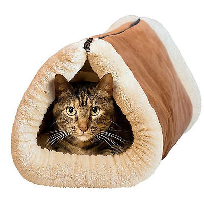 2in1AMAZING MAGIC SELF HEATING THERMAL PET TUNNEL BED CAT DOG PUPPY & WARM MAT 2