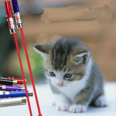 Cat Toys Laser Pointer Cat Laser Toy Pen Catch the LED Light Interactive 4 Color 3