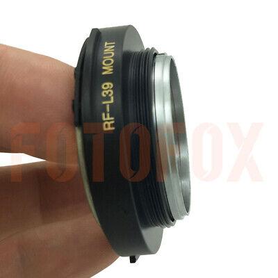 FOTOFOX RF-L39 Contax Rangefinder CRF RF Lens to Leica Mount SM M39 L39 Adapter 11
