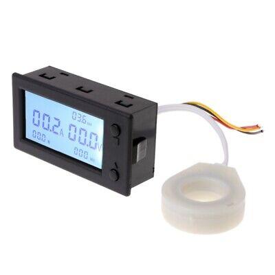 100A 200A 400A DC300V Hall Effect Coulometer Digital Voltmeter Ammeter Sensor 8