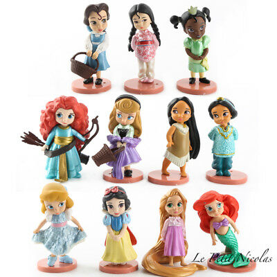 Principesse Disney Lot De 11 Statuette Biancaneve Bellissimo Cenerentola Solo 2