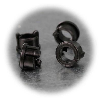 20 pezzi anelli di montaggio per 3mm LED METALLO CROMATO METAL Holder TOP!