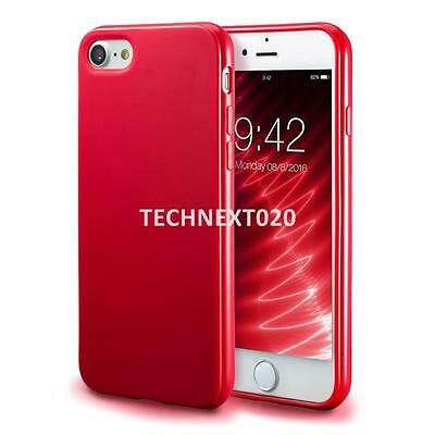 For iPhone 8 7 Plus Case Ultra Thin Soft Shockproof Silicone Gel Rubber TPU