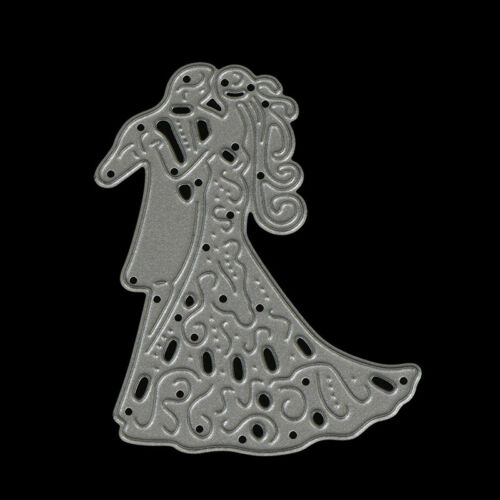 Romantic Dancing Lovers Wedding Cutting Dies For Scrapbooking Card Craft DecorPD 5