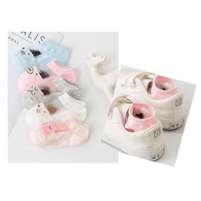 5 Pairs Baby Boy Girl Cartoon Cotton Ankles Socks Newborn Infant Toddler Soft 9
