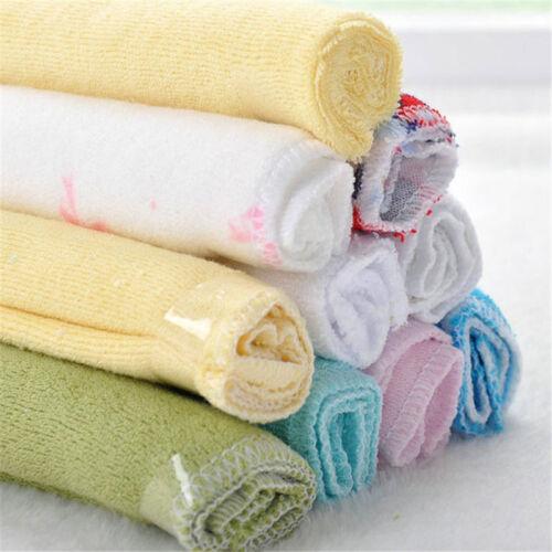Baby Feeding Cloth Kids Bath Towel Washcloth Bathing Feeding Wipe Soft Cloth 8PC 5