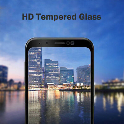 3D Full Cover 9H Tempered Glass Screen Protector For Samsung Galaxy A8 A8+ 2018 6