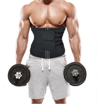 Men Abdomen Fat Burner Tummy Control Body Shaper Waist Trainer Sauna Sweat Belt 4