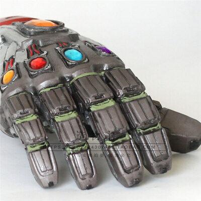 Avengers Endgame LED Glove Infinity Stone Gauntlet Iron Man Tony Stark Cos Prop 6
