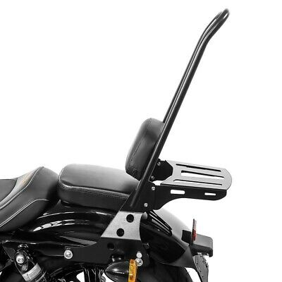 Portapacchi per Harley Sportster Forty-Eight 48 Special 18-19 nero