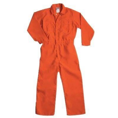 Custom Printed Jail Inmate Prisoner Orange Jumpsuit