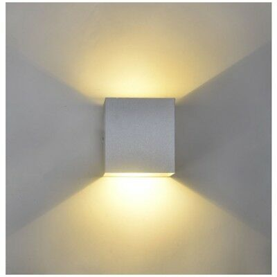 12w Led Updown Innen Lampe Cube Cob Wandleuchte Wandlampen